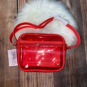 Stephanie Johnson red crossbody bag NWT